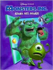 Ready, Set, Scare! Sticker Book (Monsters, Inc.)