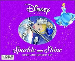 Sparkle and Shine: Book and Jewelry Set - Disney Princess