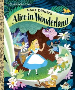 Walt Disney's Alice in Wonderland (Little Golden Book Series)