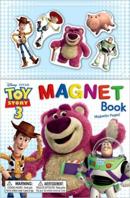 Toy Story 3 Magnet Book