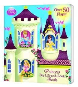Princess Big Lift-and-Look Book (Disney Princess)