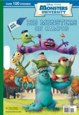 Big Monsters on Campus (Disney/Pixar Monsters University)