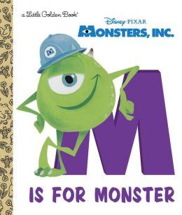 M Is for Monster (Disney/Pixar Monsters, Inc.)