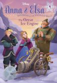 Book Cover Image. Title: The Great Ice Engine (Disney Frozen Series:  Anna & Elsa #4), Author: Erica David