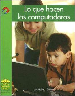 Lo que hacen las computadoras (What Computers Do)