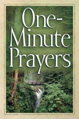 One-Minute Prayers?