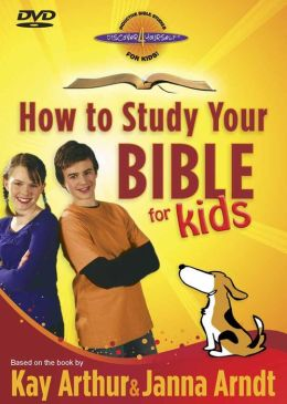 How to Study Your Bible for Kids DVD: Join Max and Molly As They Explore God's Book!