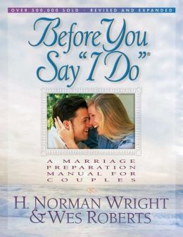 Before You Say ''I Do''