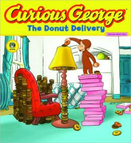 Curious George and the Donut Delivery (Turtleback School & Library Binding Edition)