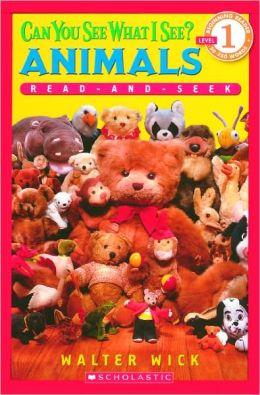 Animals: Read-And-Seek (Turtleback School & Library Binding Edition)