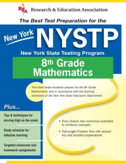 New York NYSTP (REA) - the Best Test Prep for 8th Grade Math