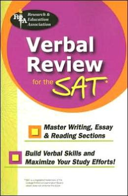 Verbal Review for the SAT (REA)