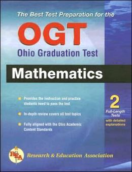 OGT Math, Ohio Graduation Test (REA) - The Best Test Prep for the OGT