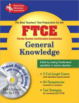 FTCE General Knowledge w/ CD-ROM (REA) The Best Test Prep