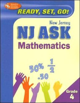 NJ ASK Grade 4 Math (REA) - Ready, Set, Go! New Jersey ASK, Grade 4 Mathematics