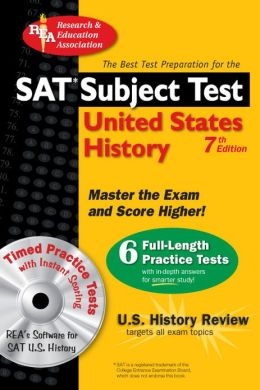 SAT United States History w/CD-ROM (REA) SAT US History Subject Test