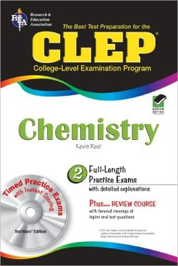 CLEP Chemistry w/TESTware (REA) The Best Test Prep for