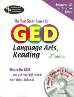 GED Language Arts, Reading w/CD-ROM (REA) The Best Test Prep for GED: -- The Best Test Prep for the GED Language Arts: Reading Section