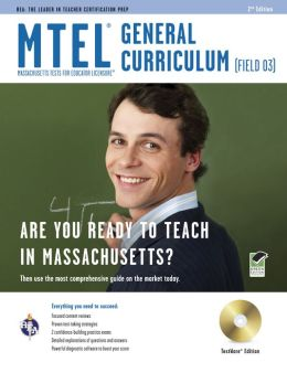 Mass. MTEL General Curriculum with CD(REA)