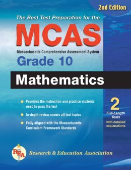 Massachusetts MCAS Grade 10 Math