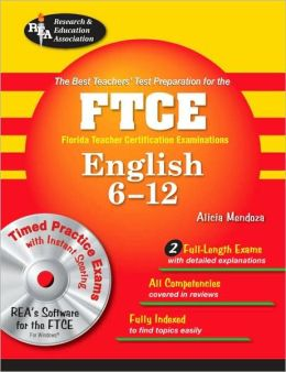 Florida FTCE English 6-12 with CD-ROM (REA)