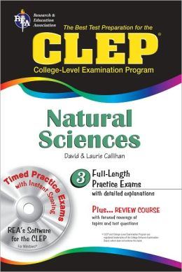 CLEP Natural Sciences [With CDROM]