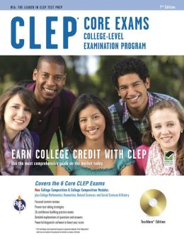 CLEP Core Exams w/CD-ROM
