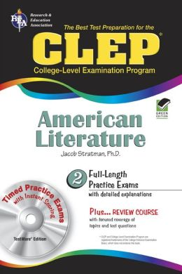 CLEP American Literature w/CD-ROM (REA) - The Best Test Prep for the CLEP
