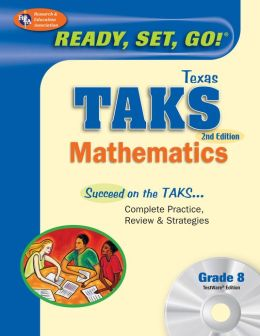 Texas TAKS Math Grade 8 W/CD