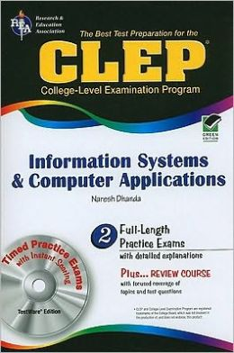 CLEP Information Systems and Computer Applications w/TestWare (REA)