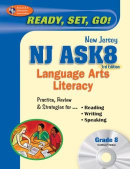 NJ ASK8 Language Arts Literacy with TestWare