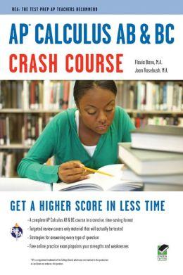 AP Calculus AB & BC Crash Course (REA)