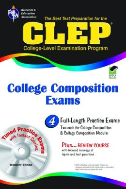 CLEP College Composition and College Composition Modular w/ TW