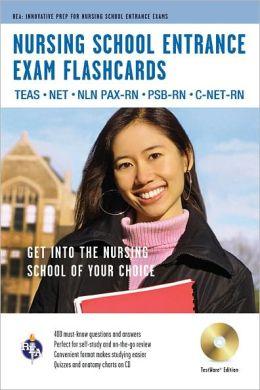 Nursing School Entrance Exams Flashcard Book Premium Edition