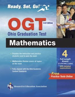 OGT Ohio Graduation Test, 3rd Edition (REA) - Ready, Set, Go!