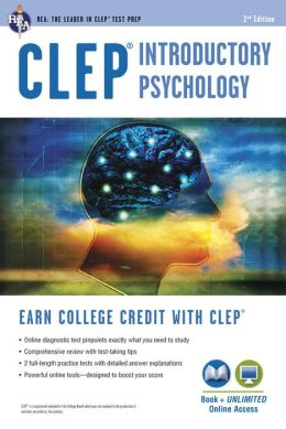 CLEP Introductory Psychology w/Online Practice Tests, 2nd Edition