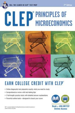 CLEP Principles of Microeconomics w/Online Practice Tests, 2nd Edition