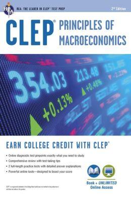 CLEP Principles of Macroeconomics w/Online Practice Tests, 2nd Edition
