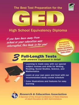 GED (REA) - the Best Test Preparation for the GED