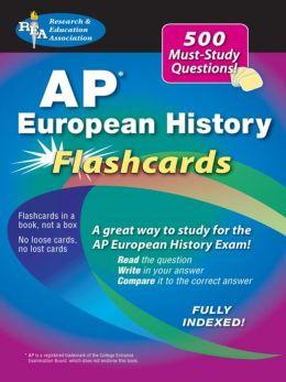 AP European History Flashcard Book