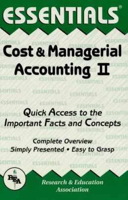 Cost & Managerial Accounting II Essentials