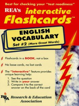 English Vocabulary - Set #2 Interactive Flashcards Book