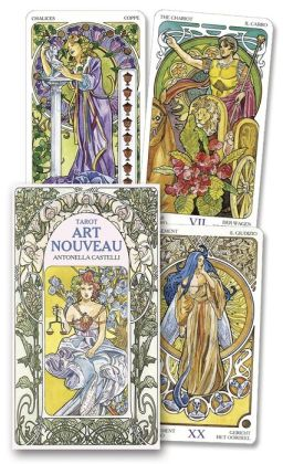 Art Nouveau Tarot Card Deck