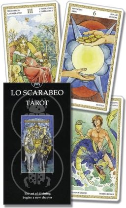 Lo Scarabeo Tarot with Instructions