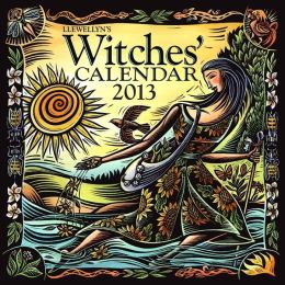 2013 Llewellyn's Witches' Wall Calendar