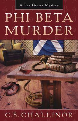 Phi Beta Murder (Rex Graves Series #3)