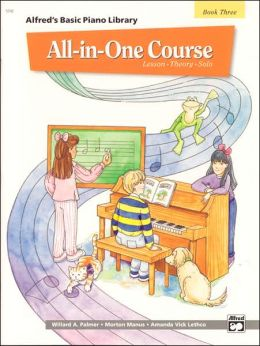 Alfred's Basic All-in-One Course for Children, Bk 3