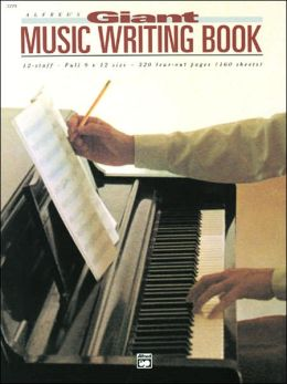 12 Stave Music Writing Book: Perforated, Perfect-bound