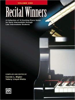 Recital Winners, Bk 1