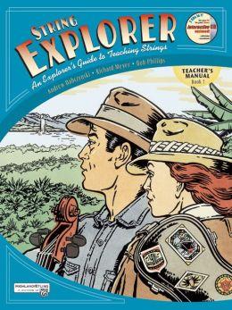 String Explorer, Bk 1: Teacher's Manual